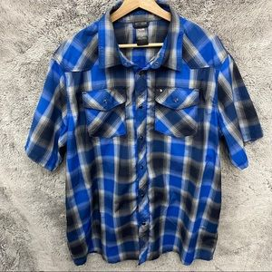 The North Face Plaid Polo Shirt
